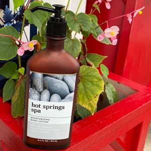 Aromatherapy HOT SPRINGS SPA Body Lotion